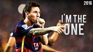 getlinkyoutube.com-Lionel Messi ● I'm The One - Skills & Goals 2016   HD