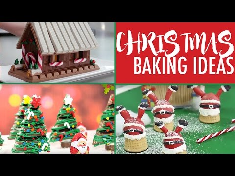 CHRISTMAS BAKING IDEAS - TOP Xmas Desserts for the Holidays | Elise Strachan | My Cupcake Addiction