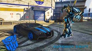 getlinkyoutube.com-GTA V PC - Autobot Drift (Transformers 4)