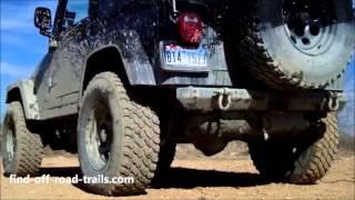 getlinkyoutube.com-Best Sounding Jeep Exhaust - Then & Now - Jeep Wrangler Rubicon - Magnaflow GlassPack