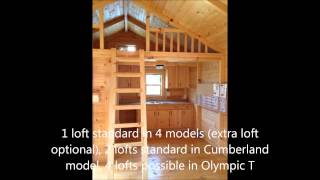 getlinkyoutube.com-Amish Cabin Company- Quality pre-built cabins delivered to you for same day use