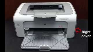 getlinkyoutube.com-How to remove jammed paper HP LaserJet Professional P1102 Printer