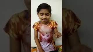 This small girl sung 'laga chunari me daag ..........'  such a difficult song amazingly without any