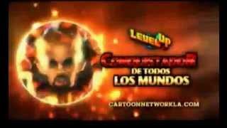 Cartoon Network.LA. Level UP Conquistadores de todos los Mundos. juego