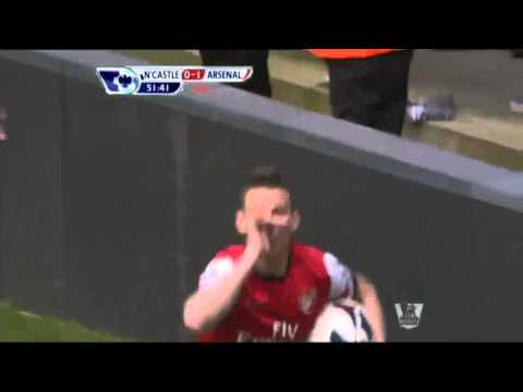 Newcastle United 0-1 Arsenal (Premier League 2012-2013)