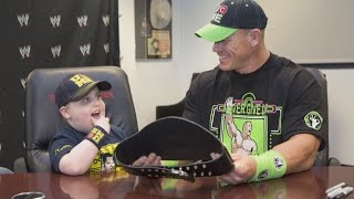 getlinkyoutube.com-A look back at John Cena's 500 wishes with Make-A-Wish