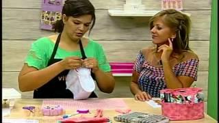 getlinkyoutube.com-Organizador de bolsa com Renata Silva - Vitrine do Artesanato na TV