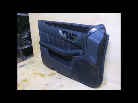 Обшивка двери передней Мерседес Е w212 A2127200162