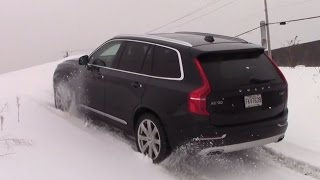 getlinkyoutube.com-AWD TEST : 2016 Volvo Xc90 Diagonal and Offroad test on ice and snow