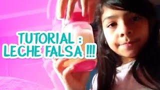 getlinkyoutube.com-TUTORIAL : LECHE FALSA !!!