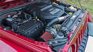 getlinkyoutube.com-Jeep JK Prodigy Turbo Kit 3.6 L Pentastar Overview