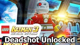 getlinkyoutube.com-LEGO Batman 3: Beyond Gotham - How to Unlock Deadshot