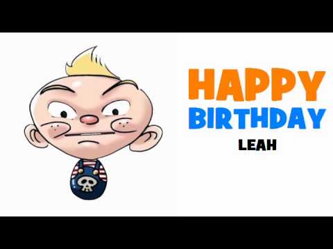 HAPPY BIRTHDAY LEAH!
