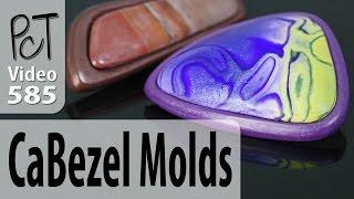 getlinkyoutube.com-CaBezel Polymer Clay Cabochon and Bezel Molds