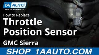 getlinkyoutube.com-How To Install Replace Throttle Position Sensor Chevy Silverado GMC Sierra
