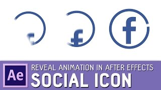 Social icon animation in After Effects ✔