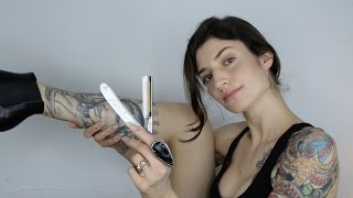 How to shave with a straight razor like a bo$$ (tutorial)