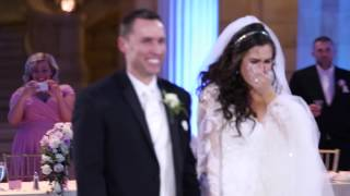 getlinkyoutube.com-This bride thought her first dance was ruined… you won't believe what happened next: