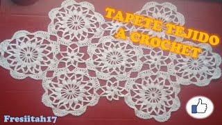 getlinkyoutube.com-Como Crear Un Tapete A Crochet En  Español