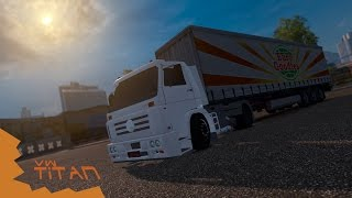 getlinkyoutube.com-Euro Truck Simulator 2 - VW Titan
