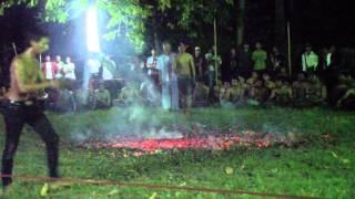 getlinkyoutube.com-งานไหว้ครูเล่นไฟ ของสำนักสักยันต์หนุมานแดงน้อย โดย อาจารย์ประพจน์ ประจำปี 2557