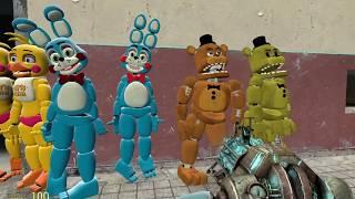 getlinkyoutube.com-Gmod FNAF 2 New Toy Models