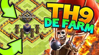 "getlinkyoutube.com-Clash of Clans – ""NEVER LOSE DARK ELIXIR!!"" EPIC Town hall 9 DE Farming Base!! (CoC TH9 Hybrid Base)"