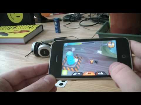 ARDefender: iPhone Augmented Reality game by int13