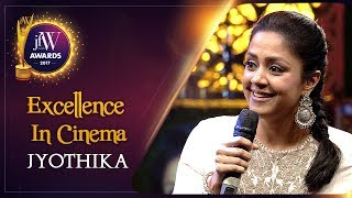 Women Empower Women | Jyothika at JFW Awards 2017 | Excellence In Cinema | JFW Magazine