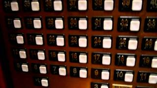 getlinkyoutube.com-Schindler Otis Traction Elevators at the Hyatt Regency Waikiki Beach in Honolulu, HI