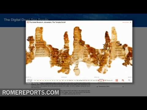 Google helps to digitize Dead Sea Scrolls for public