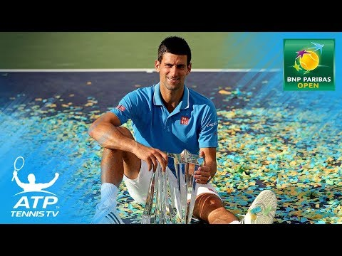 Novak Djokovic`s Top 5 Best Indian Wells Shots