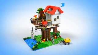 getlinkyoutube.com-Lego Creator | Buildings | 31010 | Treehouse | Lego 3D Review