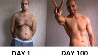 getlinkyoutube.com-BRUTAL WEIGHT LOSS (100 Days Training Program)