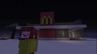 Minecraft - Short Movie Clip #1 - Evil Ronald Mcdonald