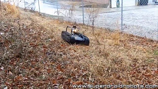 getlinkyoutube.com-SuperDroid Robots HD2-S Surveillance Robot