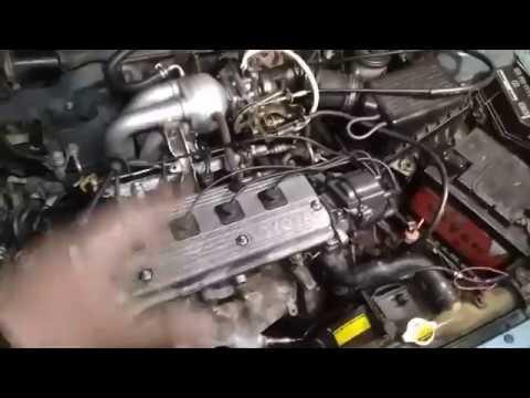 Расположение катушки зажигания в Toyota Caldina