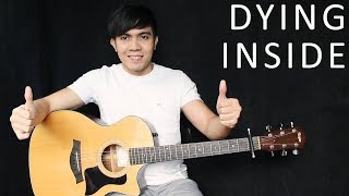 Dying Inside - Darren Espanto - Timmy Thomas (fingerstyle guitar cover + free tab)