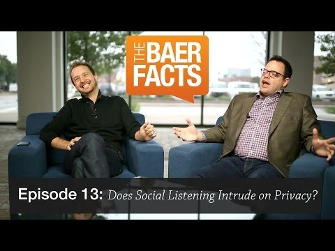 Social Listening: Damned If You Do, Damned If You Don't