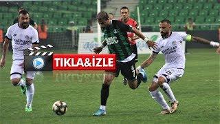 Sakaryaspor - Etimesgut Belediye maç özeti