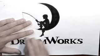getlinkyoutube.com-How to Draw Dreamworks logo / Как нарисовать лого DreamWorks / DA