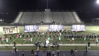 getlinkyoutube.com-La Grulla High School Marching Band 2014 Pre-Pigskin San Benito