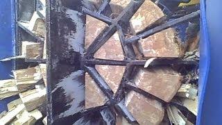getlinkyoutube.com-S u  Ü SSA 550, Brennholzvollautomat, Firewood, Full Prozessing, Spalter,  Brennholzspalter
