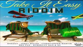 Take It Easy Riddim Mix  {SEPT 2014} (Ranch Entertainment) mix by djeasy