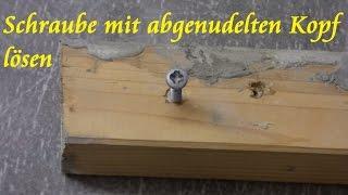 getlinkyoutube.com-Lifehack: so einfach abgenudelte Schraube lösen - kaputte Schraube rausdrehen