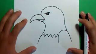 getlinkyoutube.com-Como dibujar un aguila paso a paso 3 | How to draw an eagle 3