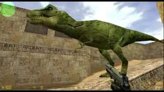 getlinkyoutube.com-T-Rex in Counter-Strike 1.6