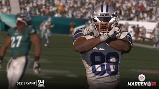 getlinkyoutube.com-Can Dez Bryant Catch a 99yd TD Pass from the  Worst QB in the NFL? Dez Goes Off! Madden 16 Gameplay