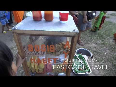sosis ayam   naget goreng fried chicken sausage Bali  street food