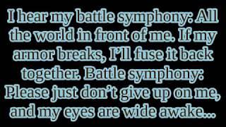 """Linkin' Park - """"Battle Symphony"""" lyrics width="""